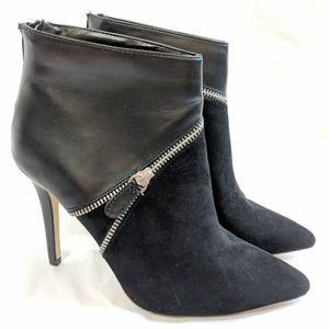 Rock & Republic Leather Spike Heel Booties